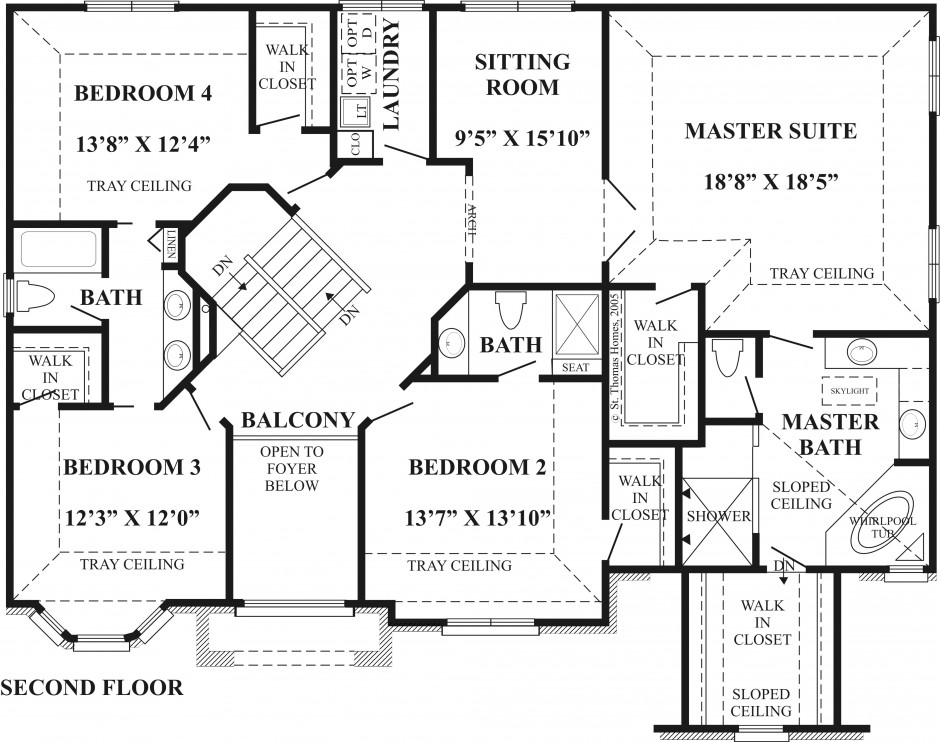 2nd Floor Layout