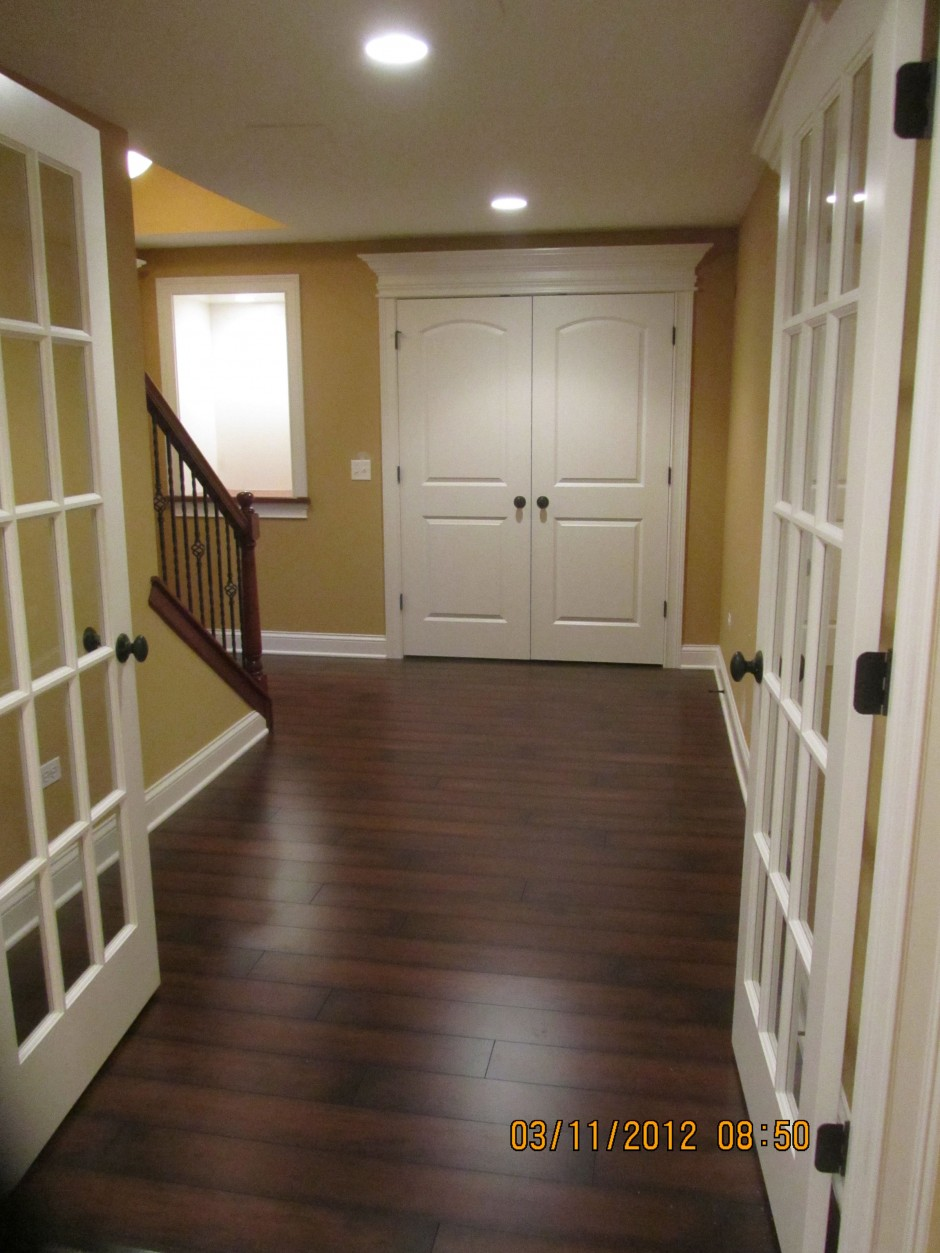 basement foyer