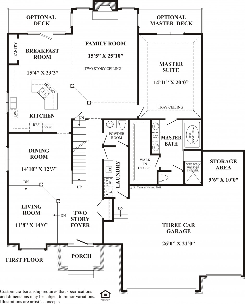 eleanor k 1st floor plan