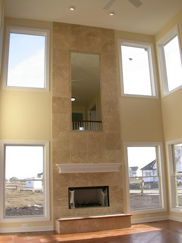 jennifer marie fireplace limestone